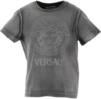 Versace Kids Distressed Logo T-Shirt (4-14 Years)