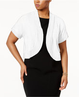 NY Collection Plus Size Shrug