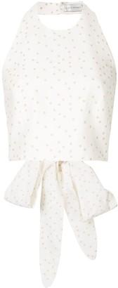 Rebecca Vallance Holliday bow tie top