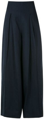 ALUF Savannah wide-leg trousers