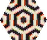 Kinder GROUND Large Hexagon Carpet - Maze (6 piece Triangle)