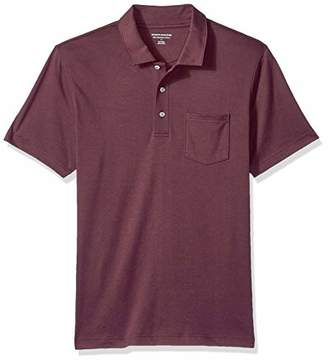 Amazon Essentials Slim-fit Jersey Polo Shirt,(EU S)