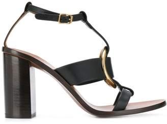 Chloé block heel sandals
