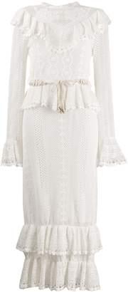Zimmermann crochet midi dress