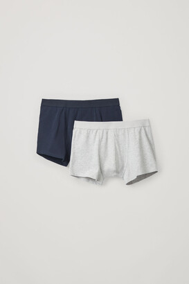 Cos 2-Pack Organic-Cotton Boxer Briefs