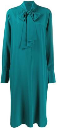 Joseph Pussybow Silk Dress
