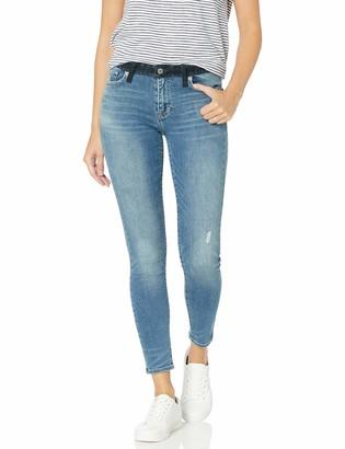 Lucky Brand Women's MID Rise AVA Skinny Jean in Sanger with Velvet Waistband 30 (US 10)