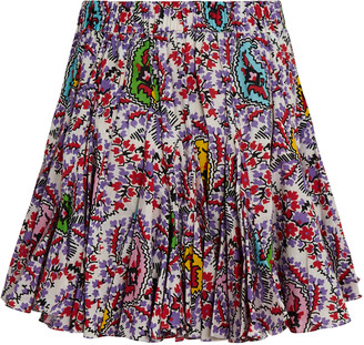 Rhode Resort Hilary Paisley Mini Skirt