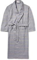 Emma Willis - Checked Brushed-Cotton Robe