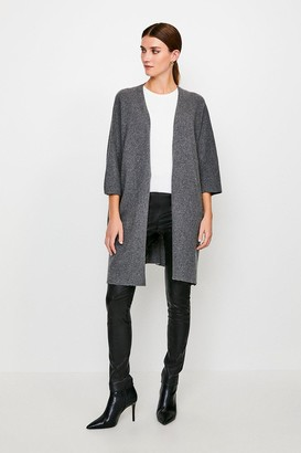 Karen Millen Cashmere Oversized Cardigan