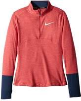 Nike Dry Element 1/2 Zip Running Top Girl's Clothing