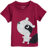 First Impressions Raccoon-Print Cotton T-Shirt, Baby Boys (0-24 months), Created for Macy's