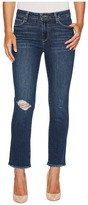 Paige Jacqueline Straight in Addax Destructed Women's Jeans