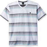 Zoo York Men's Short Sleeve Gradual V Neck Knit Shirt