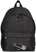 Versus Safety Pin Denim Backpack