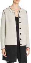 Nic+Zoe Two Tone Knit Coat