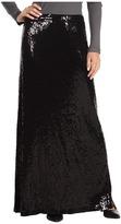 MICHAEL Michael Kors Sequin Maxi Skirt (Black) - Apparel