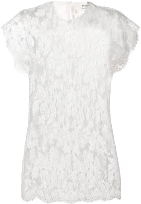 Ports 1961 scalloped hem blouse