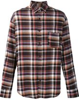 The Elder Statesman deadstock flannel checked shirt - men - Cotton - XXS