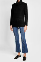 Max Mara Ribbed Cashmere Turtleneck Pullover
