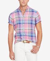 Polo Ralph Lauren Men's Short-Sleeve Checked Sport Shirt