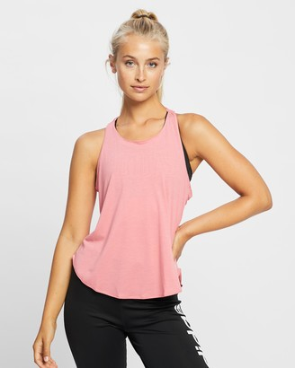 adidas Women's Pink Muscle Tops - Go To 2.0 Tank Top - Size XS at The Iconic