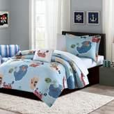 Mi Zone Kids Ahoy Matey 6-Piece Comforter Set in Blue