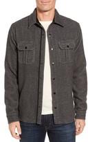 Smartwool Men's Anchor Line Herringbone Wool Blend Shirt Jacket
