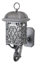 Penfield Outdoor Wall Lantern Alcott Hill Finish: Architectural Bronze