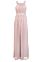 Quiz Pink Chiffon Embellished High Neck Maxi Dress