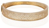 Effy Jewelry Effy D'Oro 14K Yellow Gold Diamond Maze Bangle, 1.98 TCW