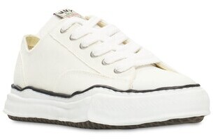 Miharayasuhiro Original sole canvas low sneakers