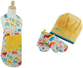 DESIGN IMPORTS Design Imports Zoo Kids Apron and Chef Gift Set