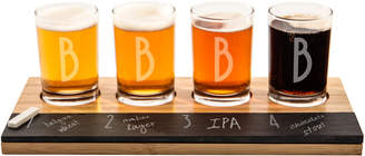 Cathy's Concepts Cathys Concepts 5Pc Monogrammed Beer Flight Set