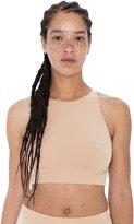 American Apparel Women's Cotton Spandex Sleeveless Crop Top Size L