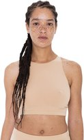 American Apparel Women's Cotton Spandex Sleeveless Crop Top Size S