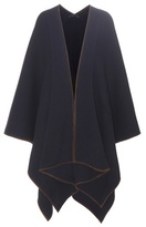 The Row Dusana Wool And Cashmere Poncho