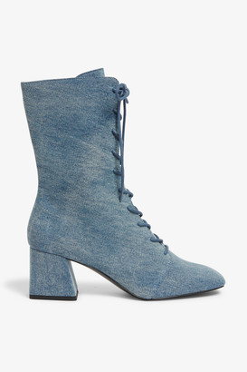 Monki Lace up boot