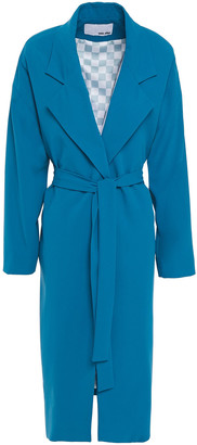 Each X Other Belted Crepe Coat