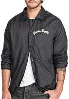 Denim & Supply Ralph Lauren Slim Jersey Lined Windbreaker, Polo Black
