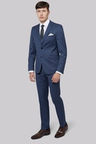 DKNY Slim Fit Blue Pinhead Suit
