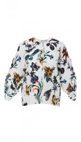 Tibi Gothic Floral Sculpted Top