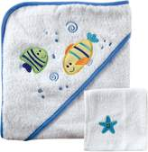 Luvable Friends Hooded Towel and Washcloth