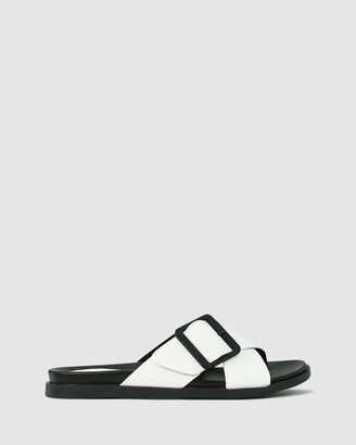 Los Cabos - Women's Black Strappy sandals - Roe - Size One Size, 38 at The Iconic