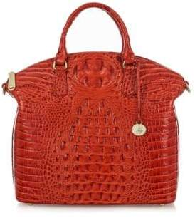 Brahmin Duxbury Leather Large Satchel