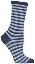 Hot Sox Holiday Striped Socks