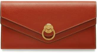 Mulberry Harlow Long Wallet Rust Silky Calf