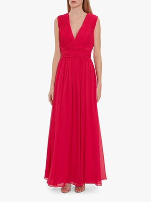 Gina Bacconi Saina Chiffon Maxi Dress