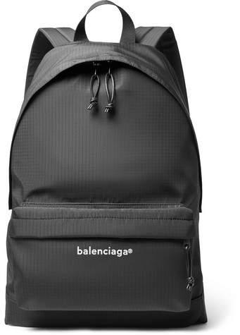 Balenciaga Explorer Printed Ripstop Backpack