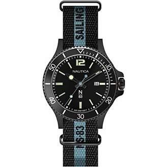 Nautica N83 Men's NAPCBS910 Cocoa Beach Silicone Strap Watch
